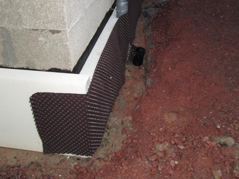 Gebäude sanierung trockenlegung